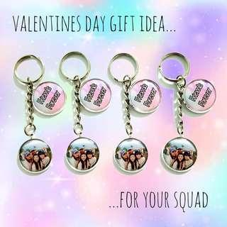 🚚 Valentines day gift idea customized keychains