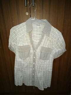 White grey shirt
