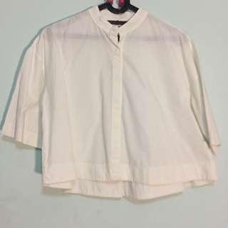 white shirt this is april