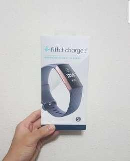 (Free registered mail!) Fitbit Charge 3 - Rose Gold