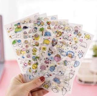 [ po ] sea lion stickers