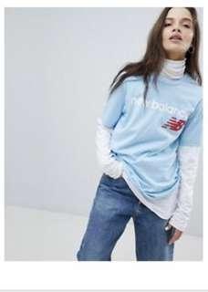 New Balance Blue T-shirt