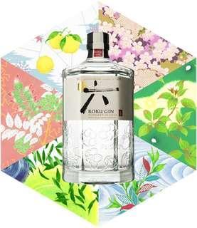 🇯🇵Suntory Roku Japanese Craft Gin 700ml