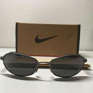 🎁Nike Sunglasses Tiger Woods 18 Stainless Green Lens