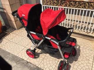 Nicebaby Double Stroller