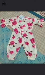 🚚 Clearance Pink/Brown Jumpsuit