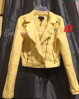 Tank Top Stretch Jacket (Yellow)