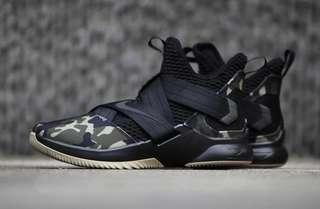 Brand New LeBron Soldier XII Special Force Camo US10