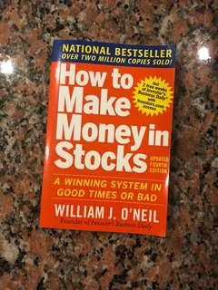 How to Make Money in Stocks by William J O'Neil