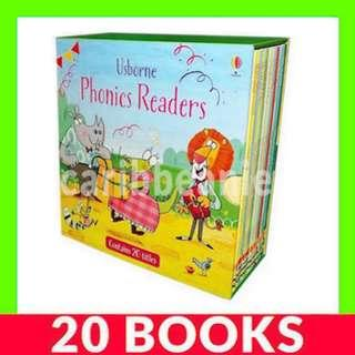 Usborne Phonics Readers Box Set - 20 Books