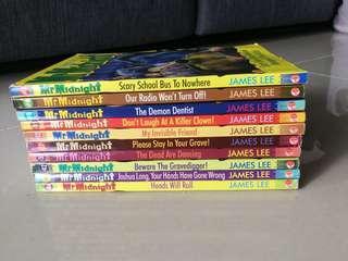 Assorted Mr Midnight books