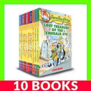 Geronimo Stilton (Book 1-10) - 10 Books