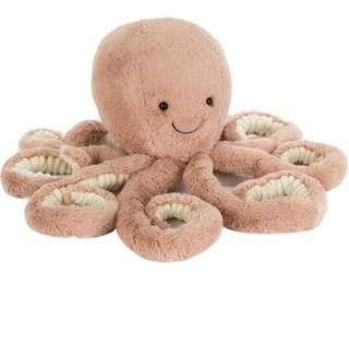 🚚 Jellycat Odell Octopus 49cm soft toy