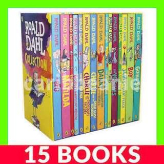 Roald Dahl Collection Box Set - 15 Books