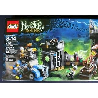 NEW SEALED Lego 9466 The Crazy Scientist & His Monster Fighter