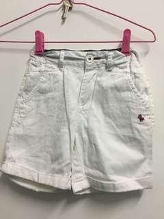 White Shorts pants