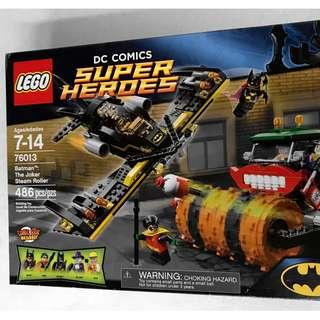 NEW SEALED LEGO Batman The Joker Steam Roller 76013