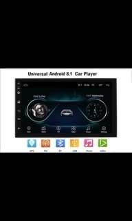 Android 8.1, 7 Inch Full Touch Screen 2Din Quad-Core Android 8.1 Car Stereo MP5 Player GPS Navi AM FM Radio WiFi BT4.0 Phone Link Head Unit with Installation. Car Radio And Audio System