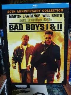 🚚 Bad Boys 1 and 2 Blu Ray.