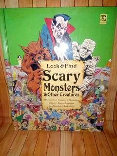 Look & find scarry monsters