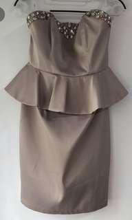 🚚 Peplum Dress