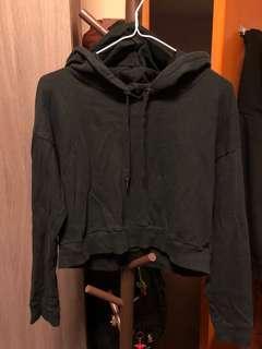 black crop hoodies