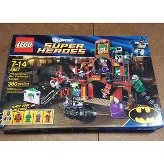 NEW SEALED Lego SuperHeroes The Dynamic Duo Funhouse Escape 6857