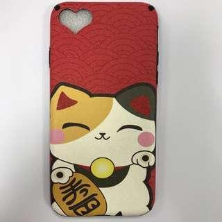 [包郵]Iphone 7/8 新年招財貓全包case
