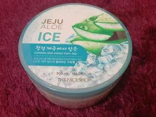 The Faceshop (Ice) Jeju Aloe Refreshing Soothing Gel