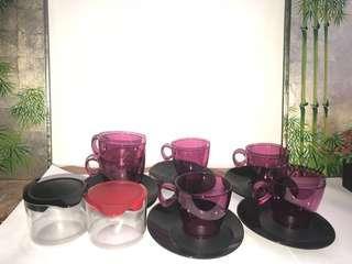 Tupperware Eleganzia Tea Set (22pcs)