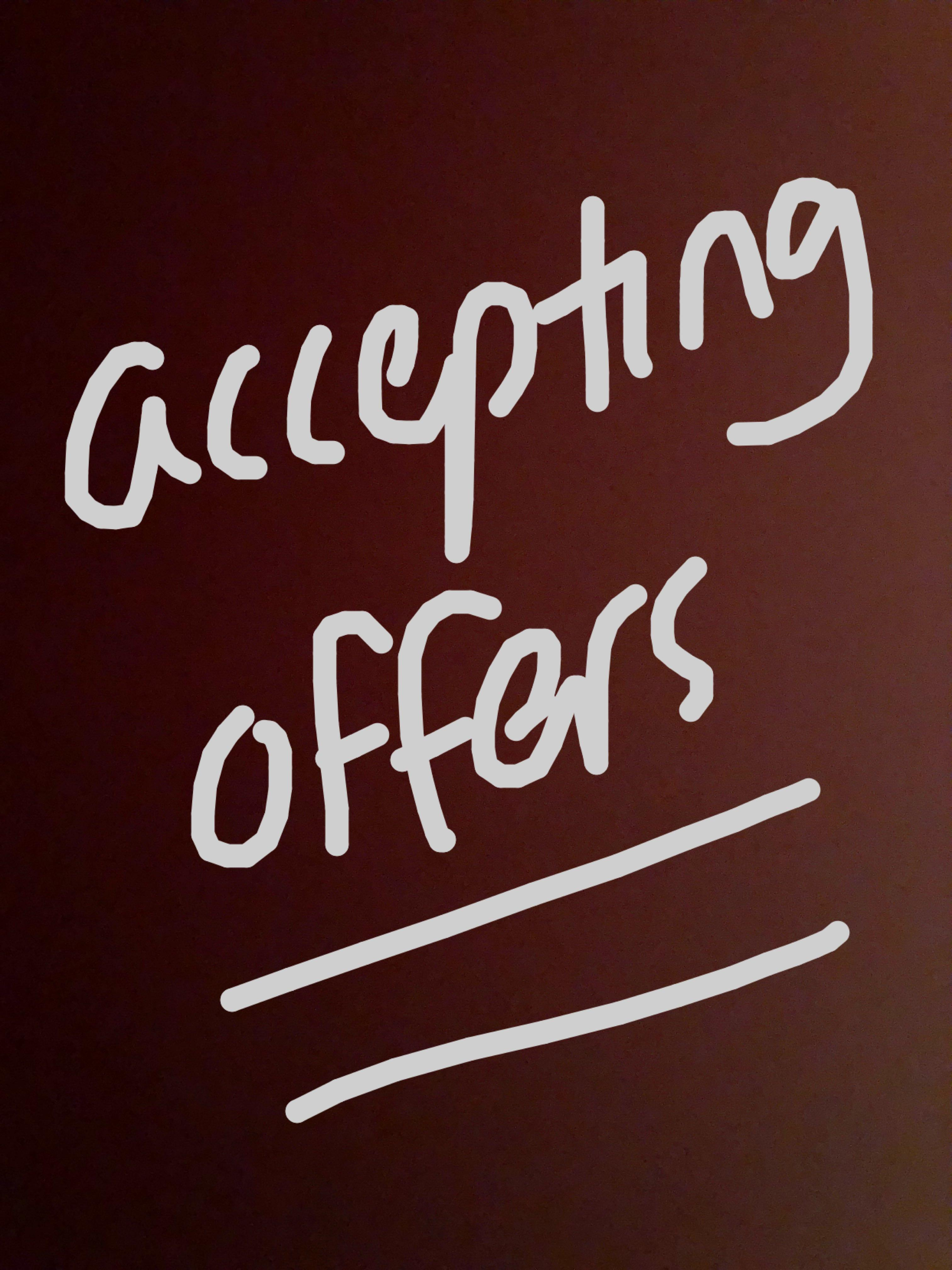 Accepting offers