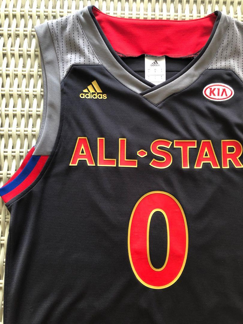 wholesale dealer 92457 9ebd2 Adidas 💯% Authentic NBA All-Stars (West) Russell Westbrook ...