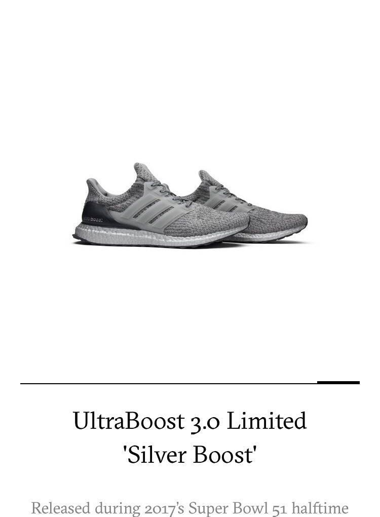 new style 558df 15a97 Adidas Ultra Boost 3.0 Silver Boost, Mens Fashion, Footwear, Sneakers on  Carousell