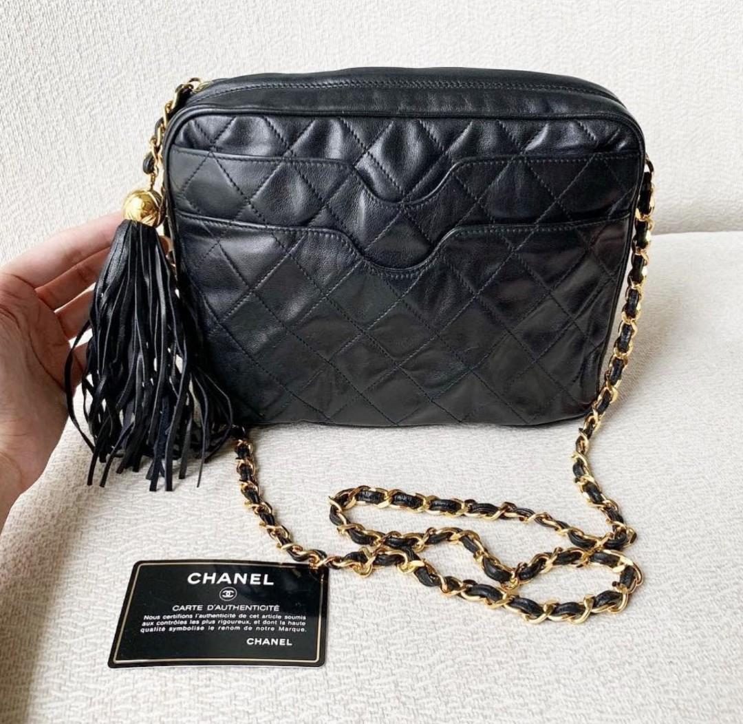 7abecc879197 Authentic Chanel Crossbody Sling Camera Bag