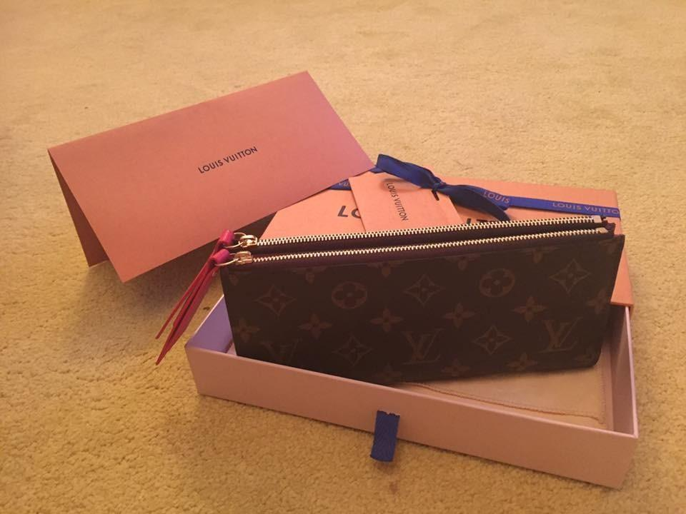 3063d561f21 Authentic Louis Vuitton Adele Wallet, Luxury, Bags & Wallets ...