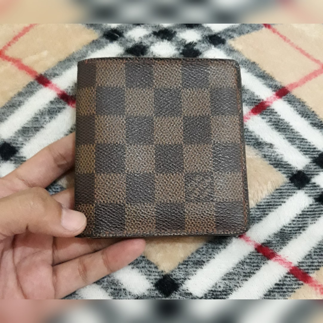 a21f52bf24d AUTHENTIC LV DAMIER EBENE BIFOLD WALLET
