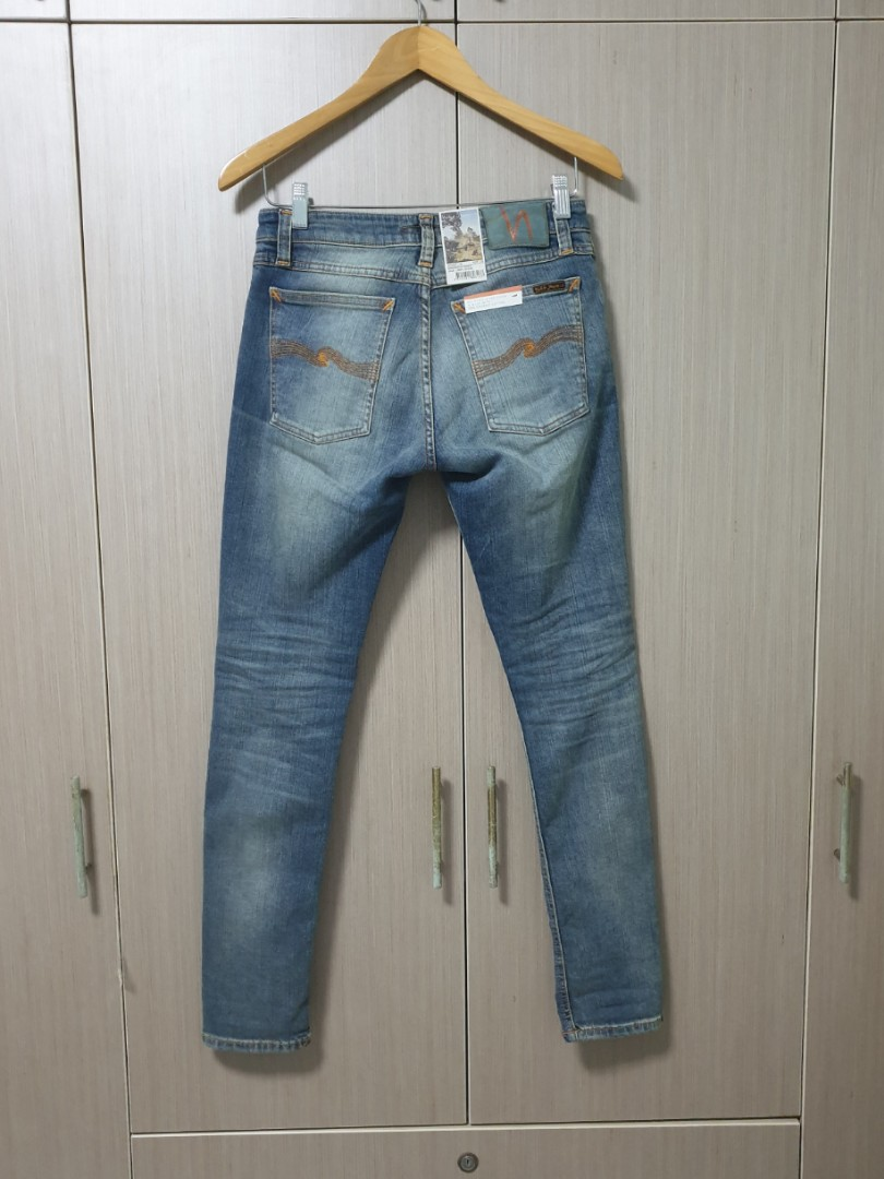 12131e6028 Reserved! Authentic Nudie Jeans Skinny Lin Shimmering Power