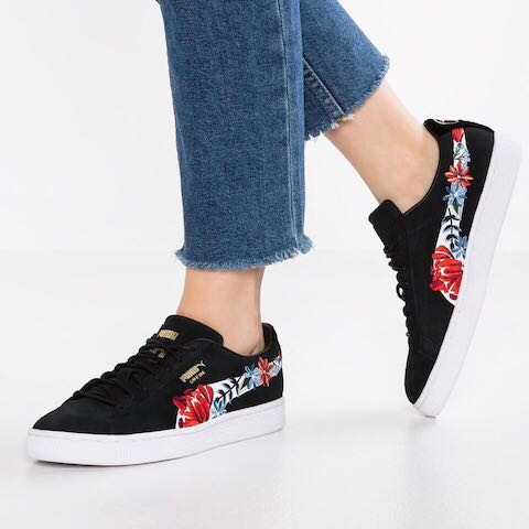 authentic puma suede hyper embellished, Women's Fashion
