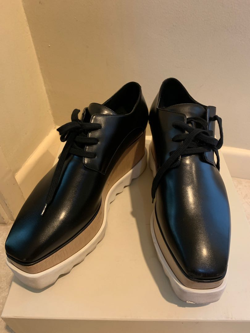 47395a8e5d77 Authentic Stella McCartney Elyse platform derby shoes
