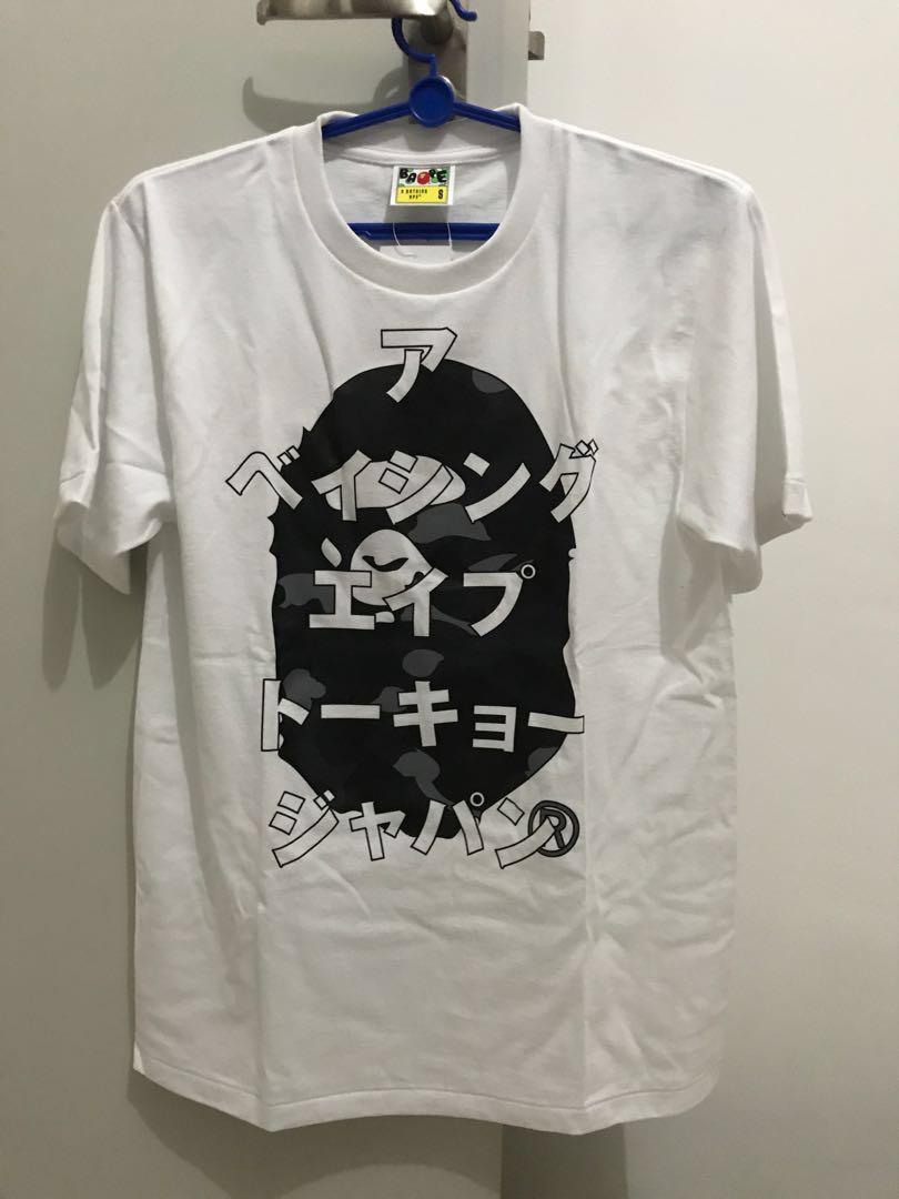 Fashion Men/'s Japan Bape Round neck money A Bathing ape Summer T-shirt Tops