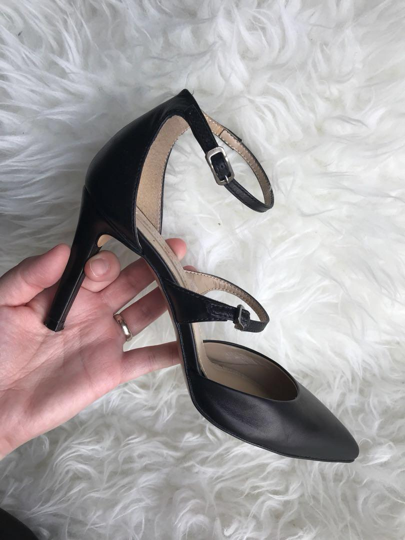 BCBG Strappy Pumps