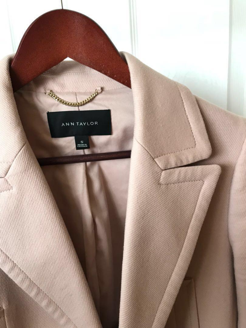 Blush Coat - Ann Taylor