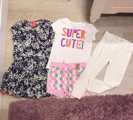 db4b7ac19d07f BN Girl Bundle Set (5T ) Wind N Show  Juicy Couture Cotton on Okie ...