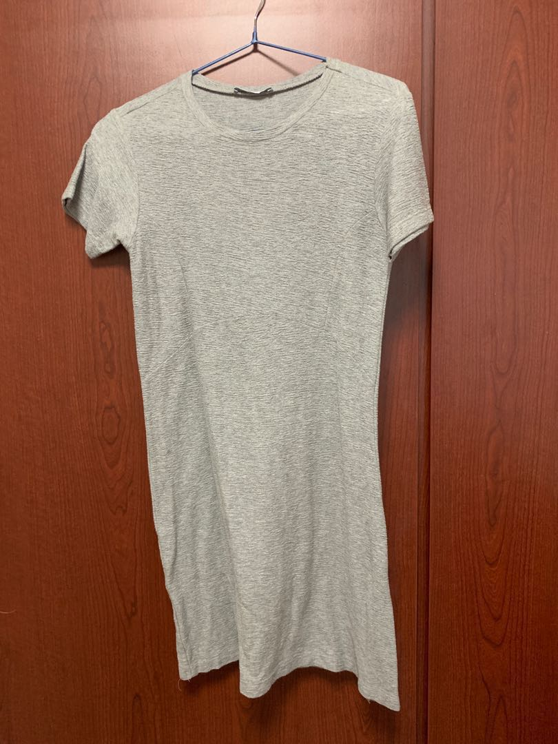 c1147461ebb BN ZARA Trafaluc Textured Skater Dress