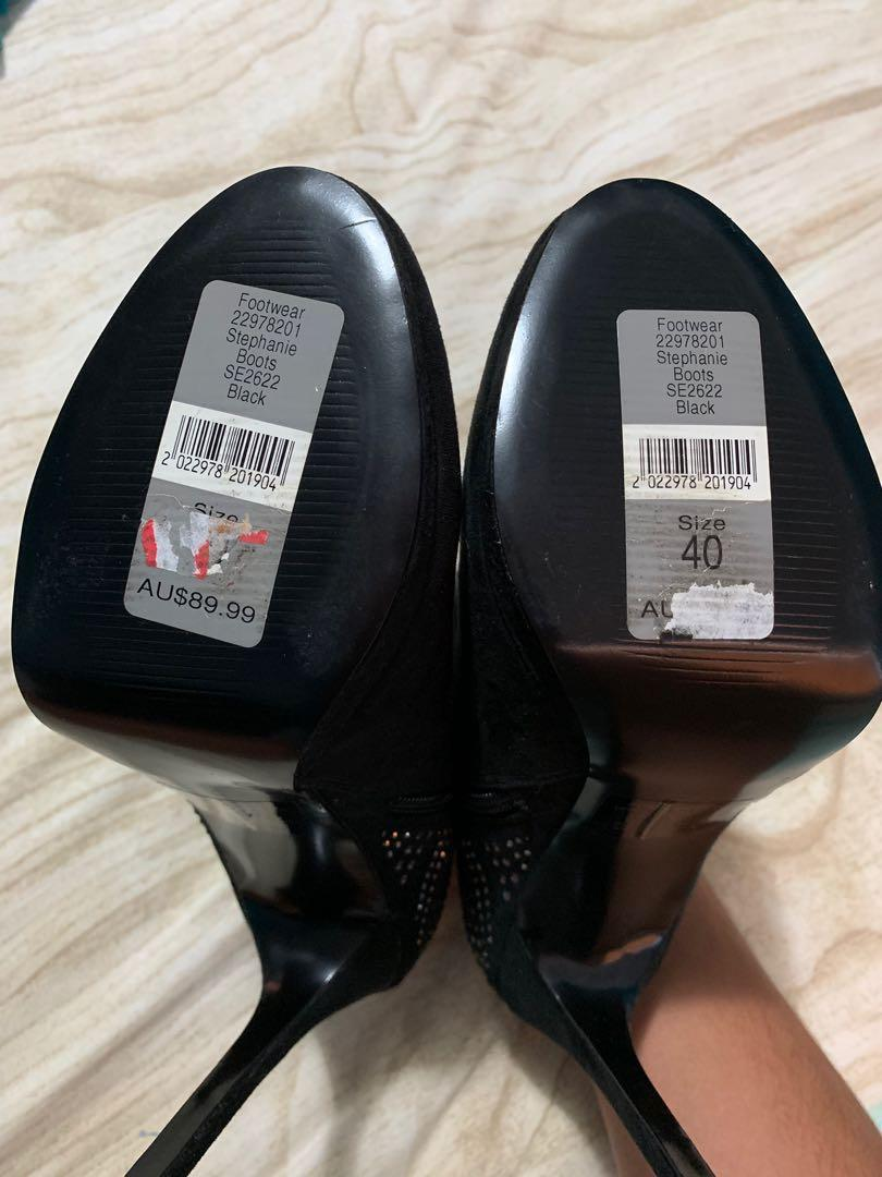 BRAND NEW Forever New High Heel Boots size 40 (AUS 9)