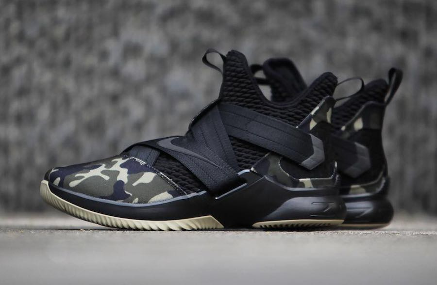 68655ea00ce Brand New LeBron Soldier XII Special Force Camo US10
