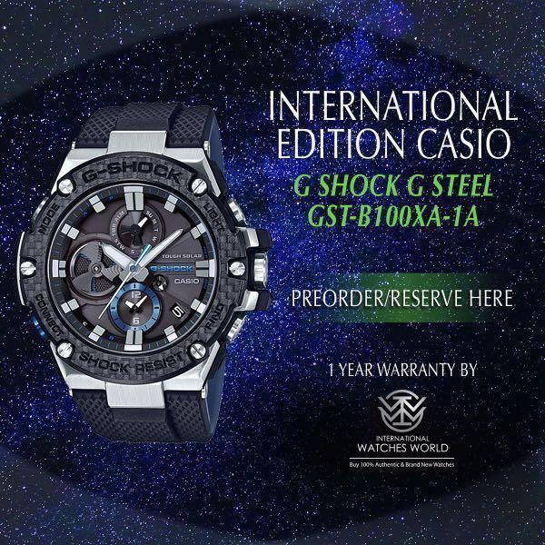 a274c0a5db593 CASIO INTERNATIONAL EDITION G SHOCK G STEEL GST-B100XA-1A