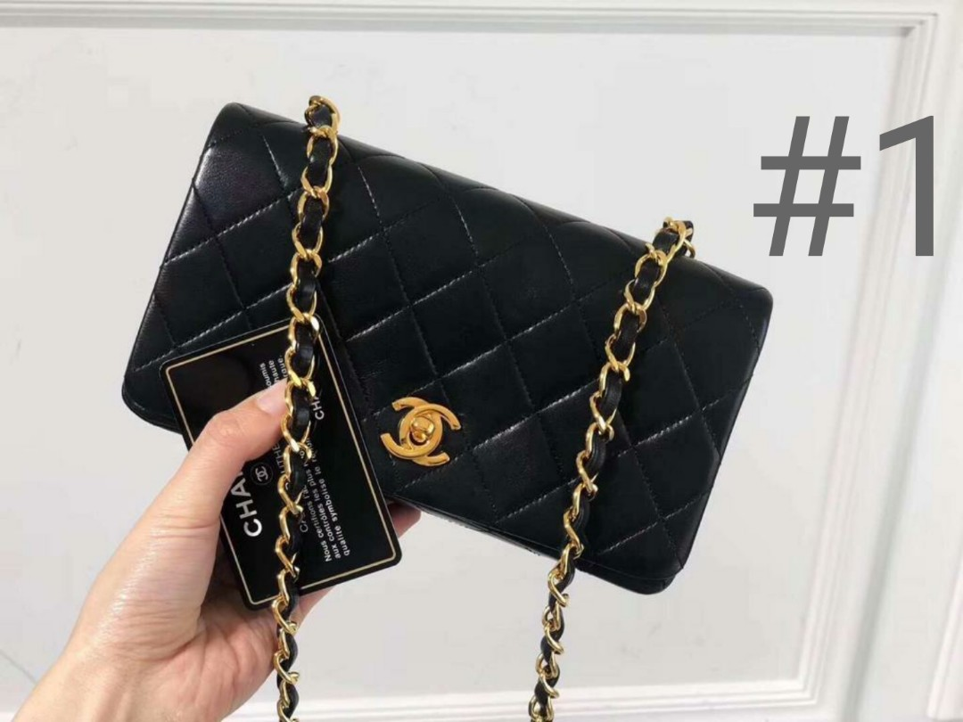 dfd8736da01d77 CHANEL VINTAGE LEATHER BAGS (SET #2), Luxury, Bags & Wallets ...