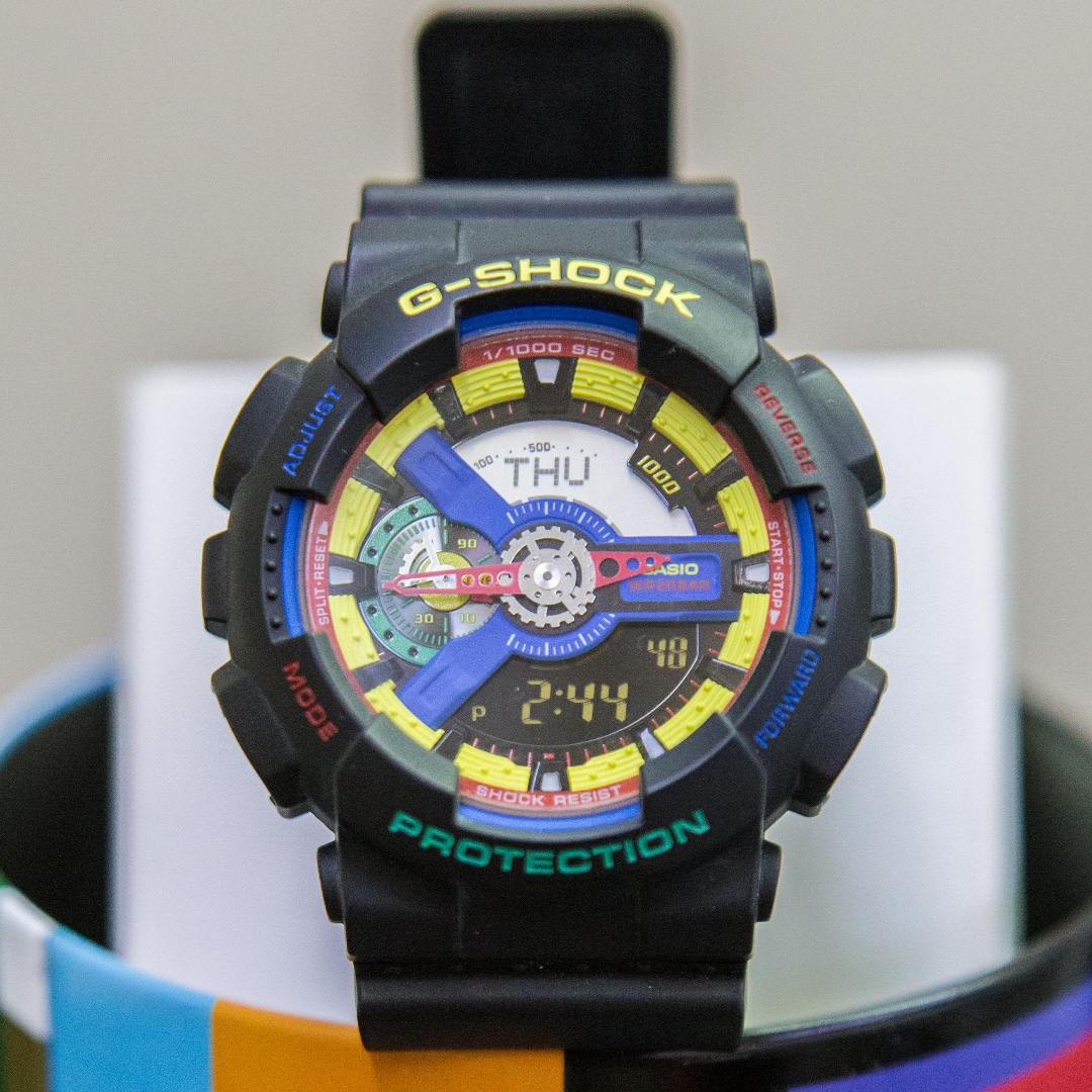 6d5fdc0413f1 Dee & Ricky Black Limited Edition G-Shock GA-110DR, Men's Fashion, Watches  on Carousell