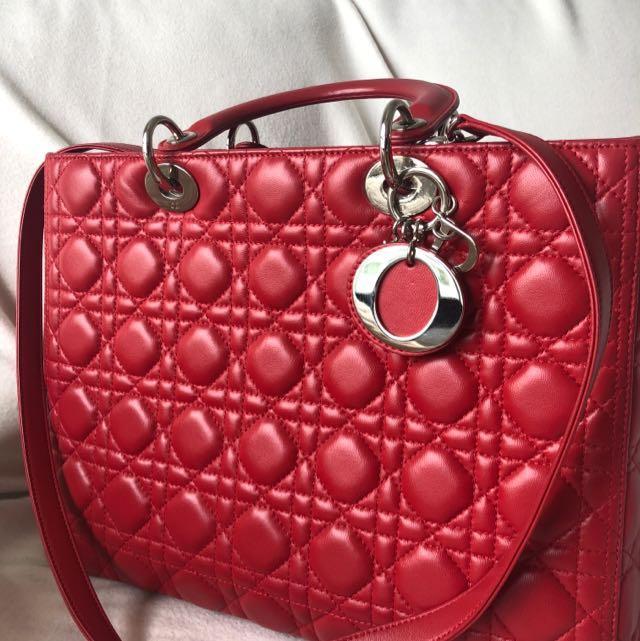 ff847d5c2671 Dior Patent bag - Large (authentic)  pristine condition  (fast deal ...